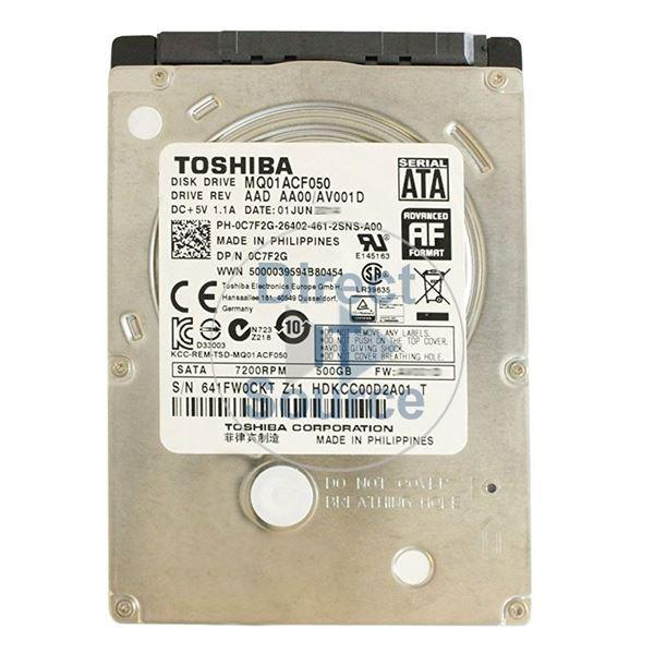 Dell 0C7F2G - 500GB 7 2K SATA 2 5