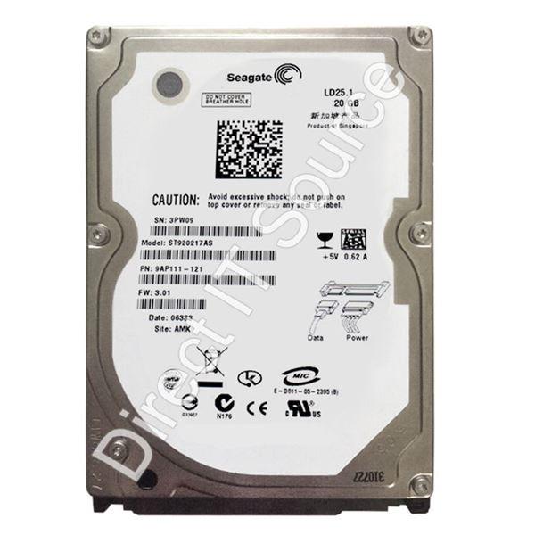 Seagate 9AP111-121 - 20GB 5 4K SATA 1 5Gbps 2 5