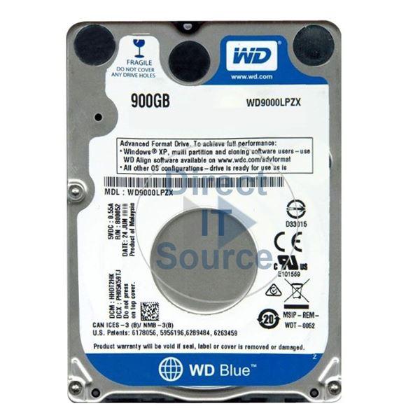 WD WD9000LPZX - 900GB 5 4K SATA 6 0Gbps 2 5